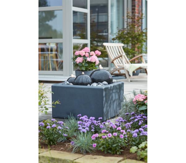 Dehner Granit-Gartenbrunnen Belluno, 56 x 56 x 33 cm