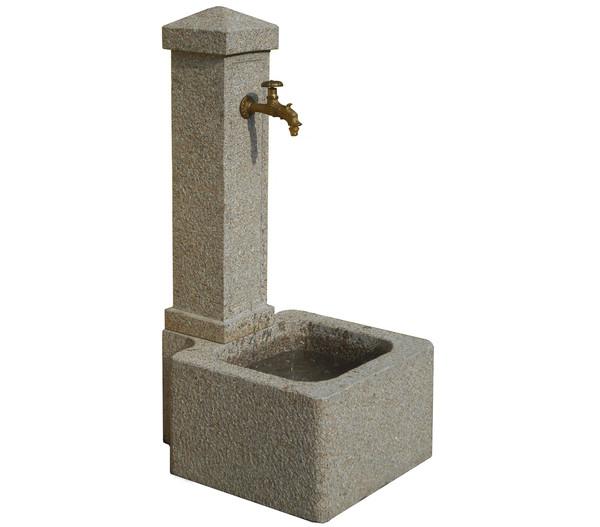 Dehner Granit-Gartenbrunnen Graz, ca. B50/H110/T60 cm