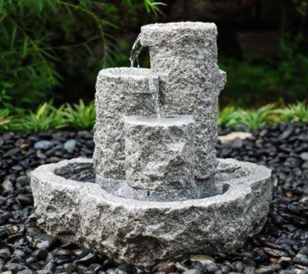 Dehner Granit-Gartenbrunnen Heidelberg, Ø 50 x 55 cm