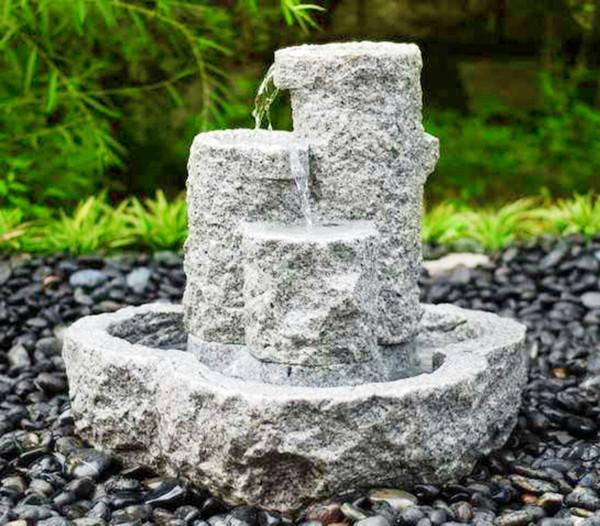 Dehner Granit-Gartenbrunnen Heidelberg, ca. B50/H55/T50 cm
