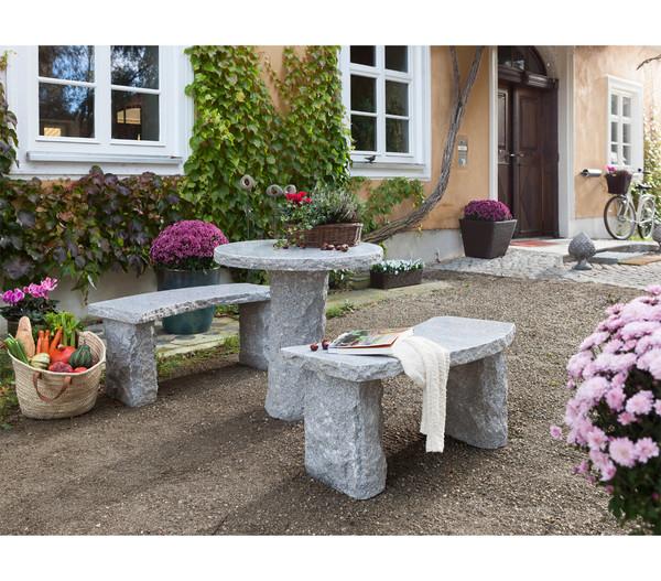 Dehner Granit Tisch Rund O 75 Cm Dehner
