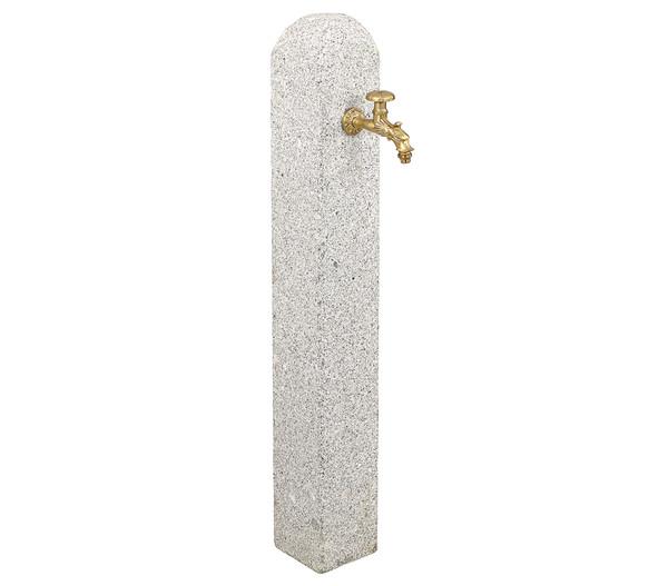 Dehner Granit-Wasserzapfsäule, 15 x 15 x 112 cm