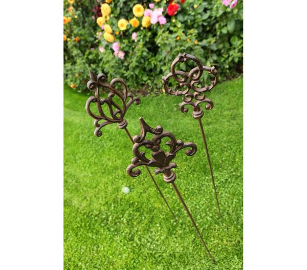 Dehner Gusseisen-Gartenstab Ornament