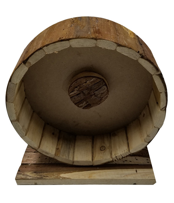 Dehner Holzlaufrad Shift, 22x12x25 cm