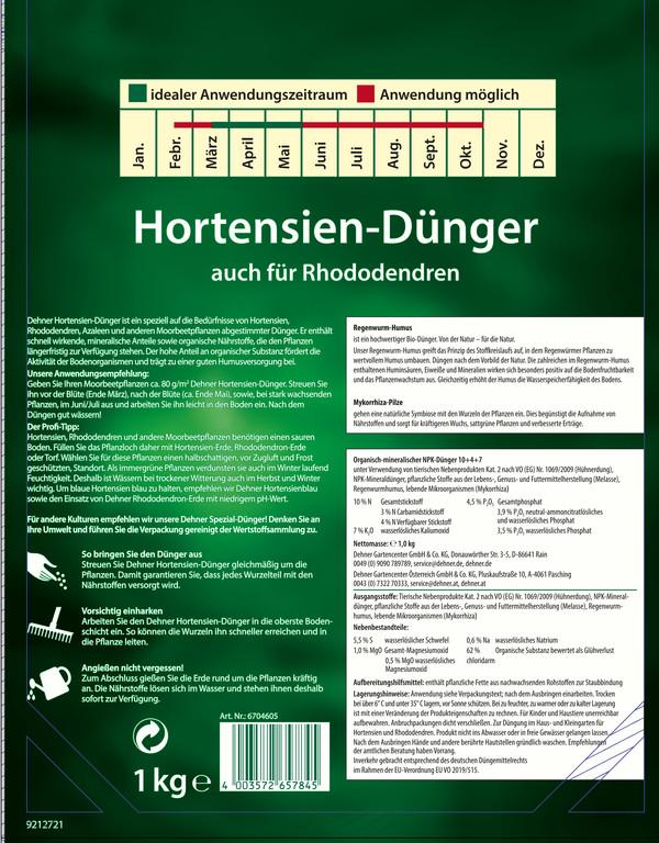 Dehner Hortensien-Dünger