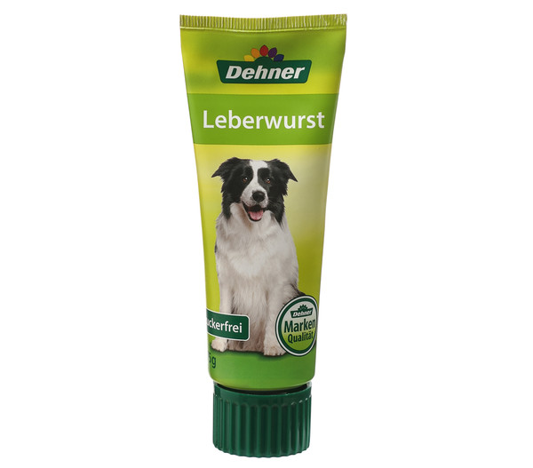 Dehner Hundesnack Leberwurst, 75 g