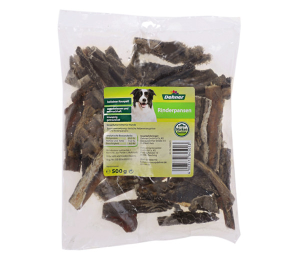 Dehner Hundesnack Rinderpansen