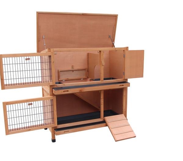 Dehner Kaninchenstall Original mit Wärmedämmung