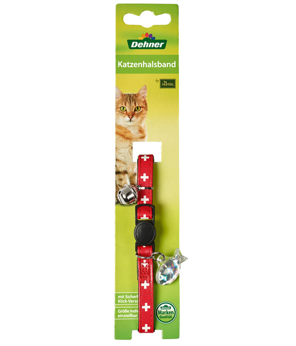 Dehner Katzenhalsband Cross