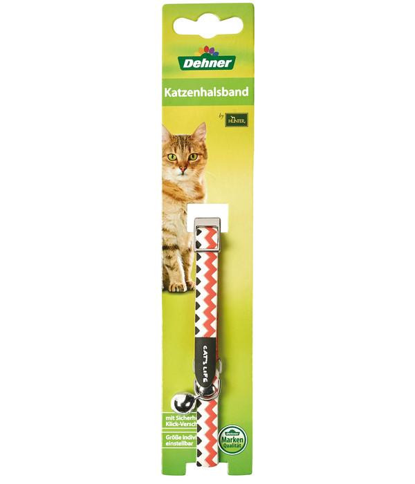 Dehner Katzenhalsband Zigzag