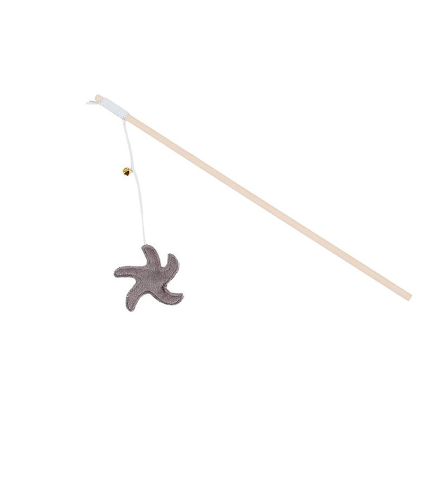 Dehner Katzenspielzeug Spielangel Starfish
