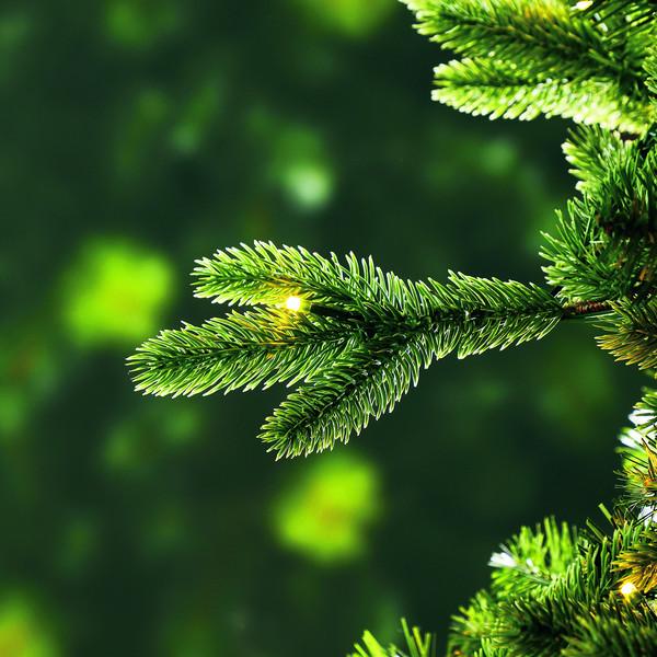 Dehner künstlicher LED-Weihnachtsbaum 'Lyra', 180 cm