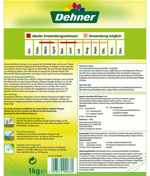 Dehner Koniferen-Dünger, 1 kg