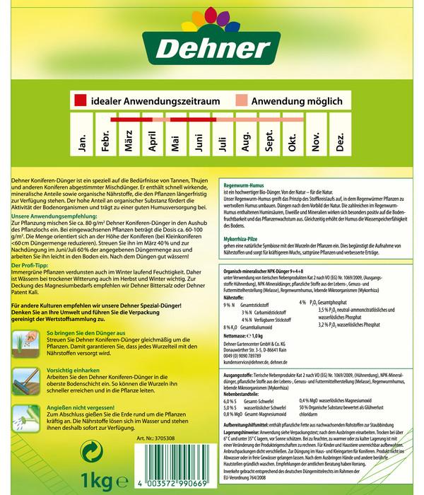 Dehner Koniferen-Dünger