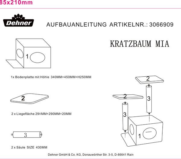 Dehner Kratzbaum Mia