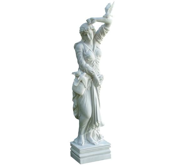 Dehner Kunststein-Figur Melanie