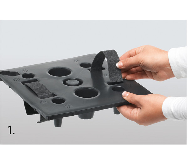 Dehner Kunststoff-Flechttopf