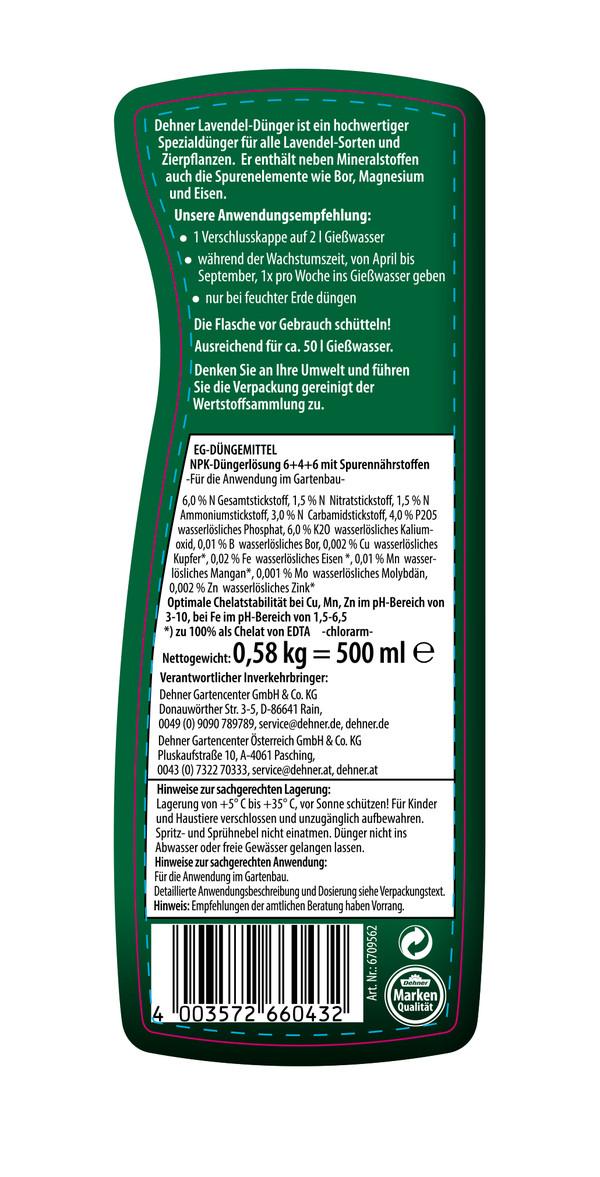 Dehner Lavendel-Dünger, 500 ml