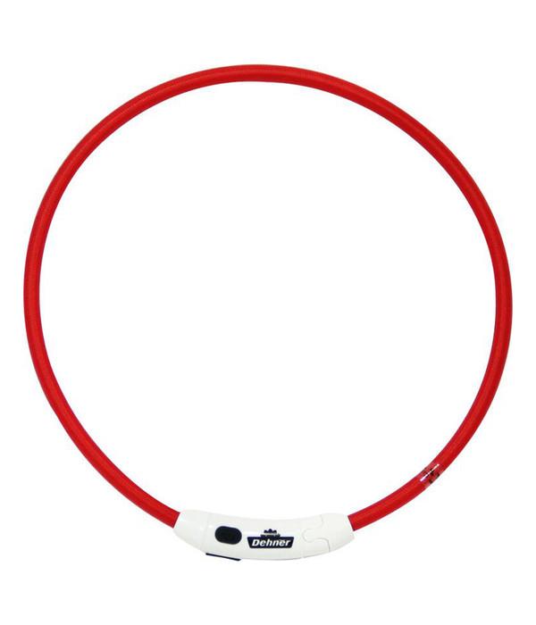 Dehner LED-Leuchthalsband Flash Ring