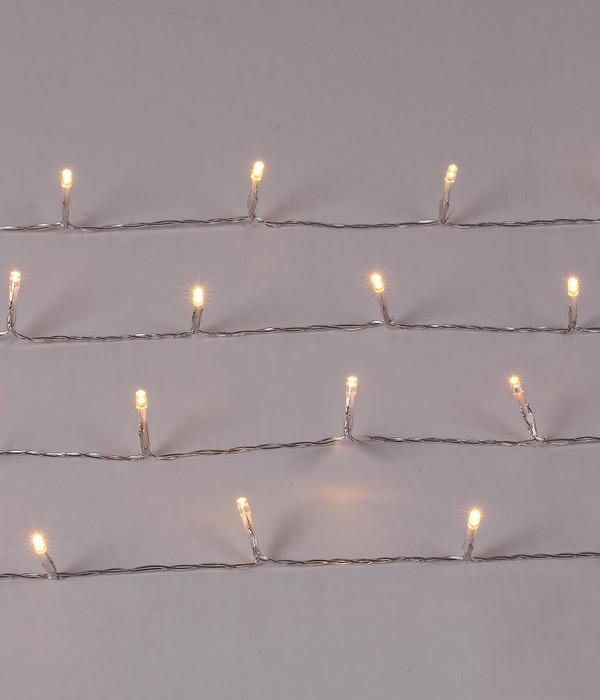 Dehner LED-Lichterkette, 50 Lichter, warmweiß