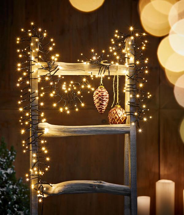 Dehner LED-Lichterstrang, warmweiß