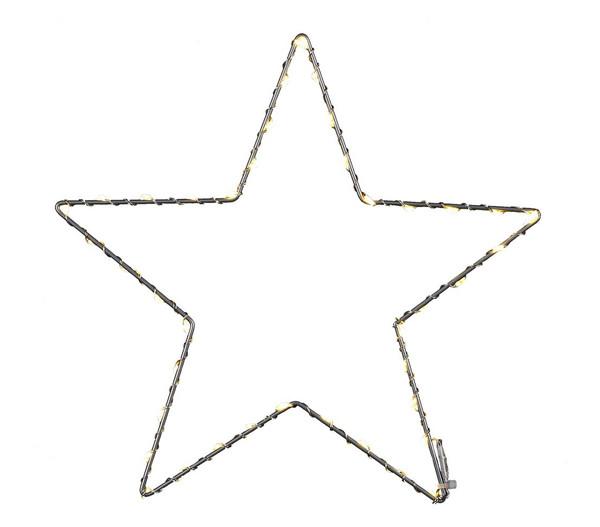 Dehner LED-Stern-Silhouette, warmweiß