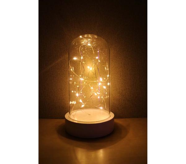 Dehner LED-Tischlicht, warmweiß