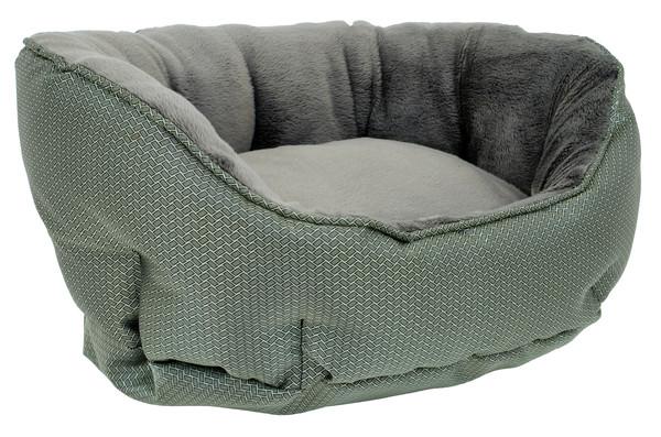Dehner Lieblinge Cool/Warm-Bett für Hunde & Katzen, oval