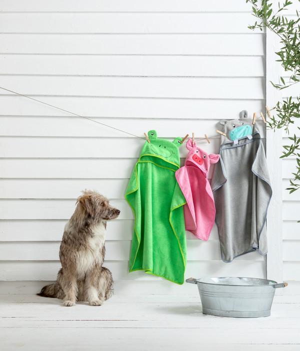 Dehner Lieblinge Hunde-Handtuch Ferkel