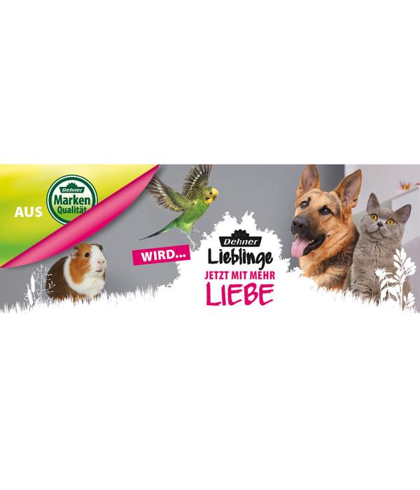 Dehner Lieblinge Hundesnack Kaninchenohren mit Fell