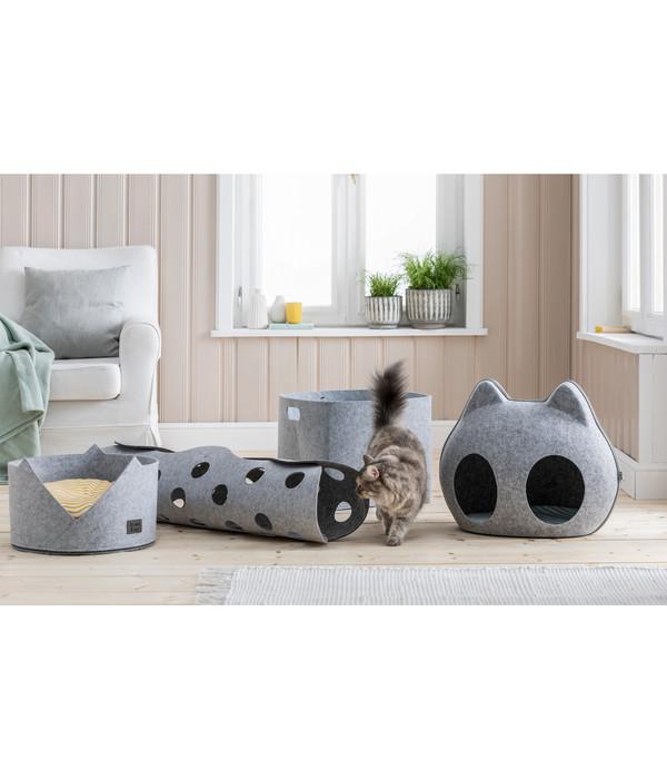 Dehner Lieblinge Katzenspielzeug Spieltunnel Dream Team Two-Stage