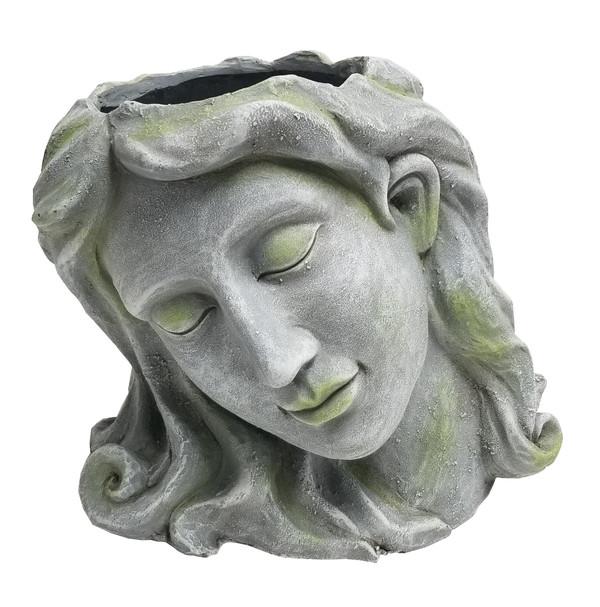Dehner Magnesia-Kopf Artemis zum Bepflanzen, B34/H28/T25