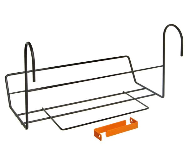 Dehner Metall-Balkonblumenkastenhalter Mary, ca. B36,5/H23/T14 cm
