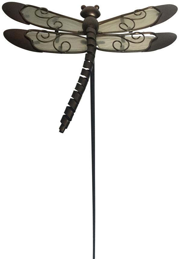 Dehner metall dekostab libelle dehner for Dekostab garten