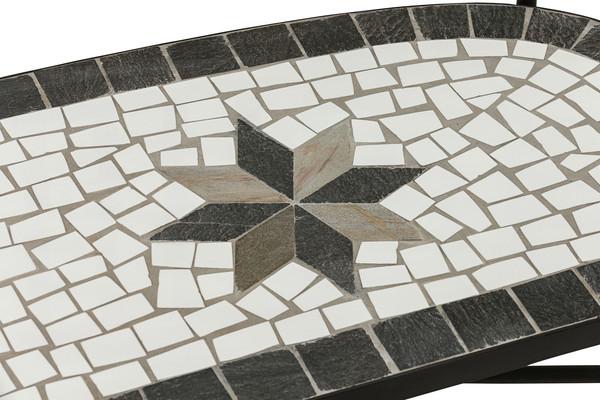 Dehner Mosaikbank 'Diana', 2-Sitzer