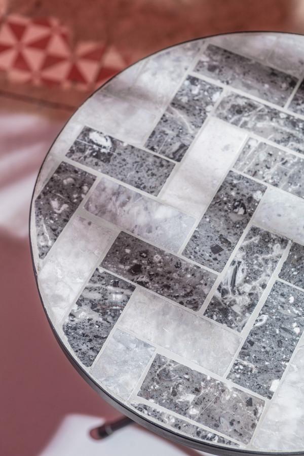 Dehner Mosaikblumenhocker 'Letizia'