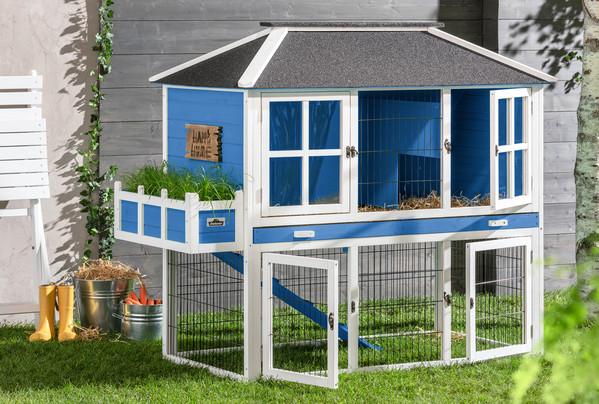 Dehner Nagerheim Happy Home Palazzo, blau
