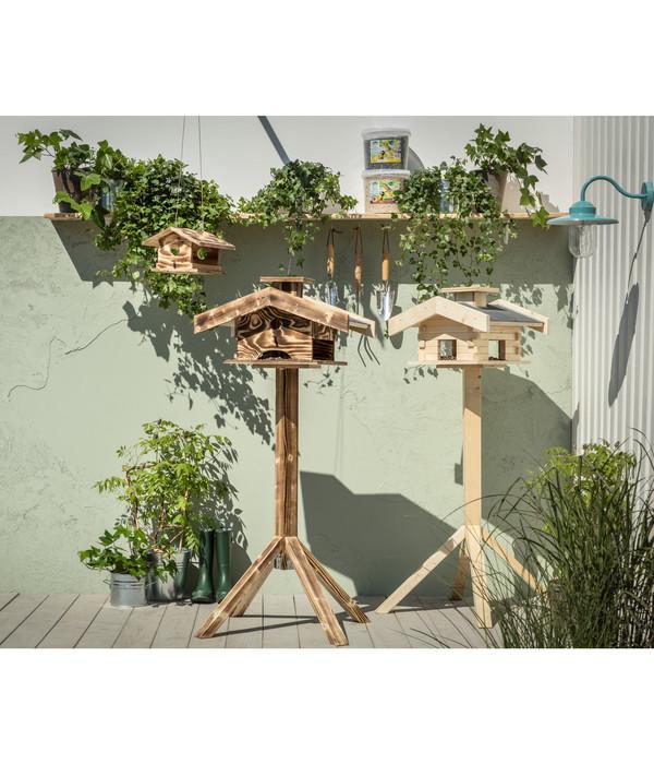 Dehner Natura Futterhaus Arber mit Silo