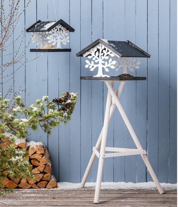 Dehner Natura Futterhaus mit Ständer Lipica