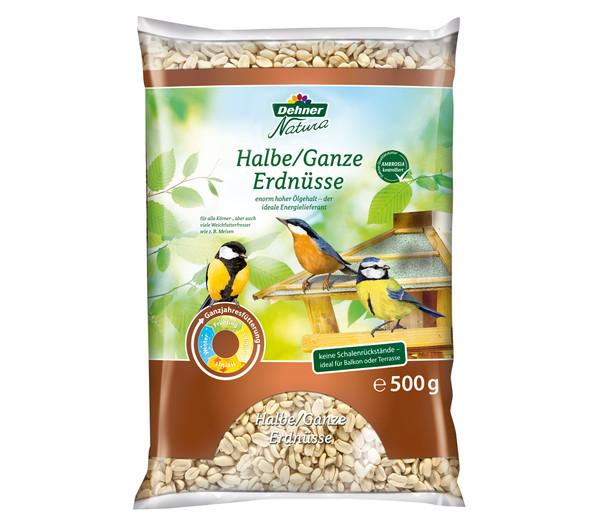 Dehner Natura Halbe/Ganze Erdnüsse