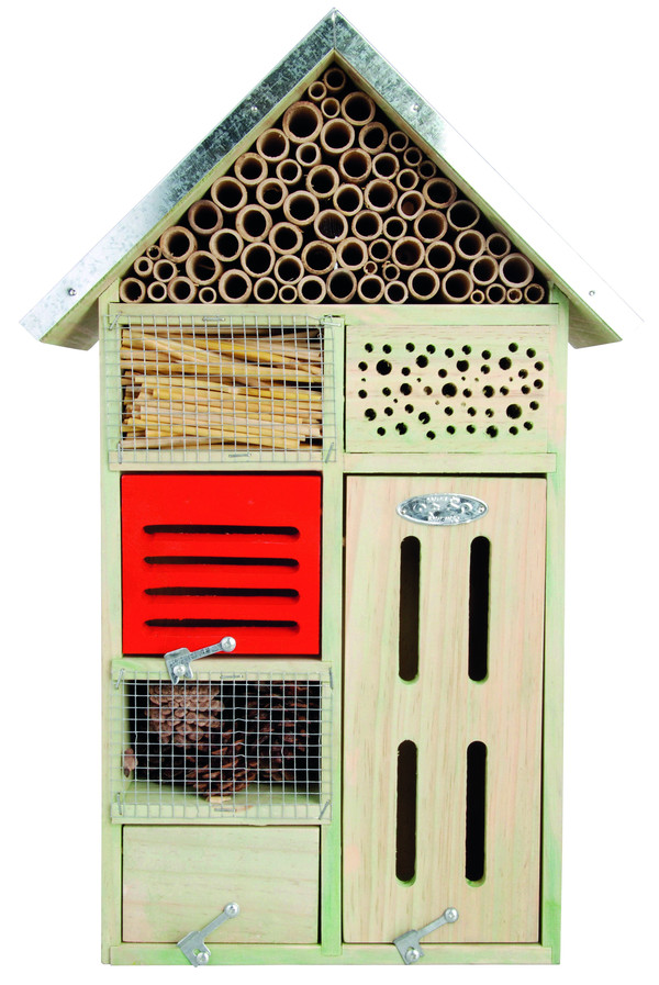 Dehner Natura Insektenhotel, 31,5 x 48,5 x 15 cm