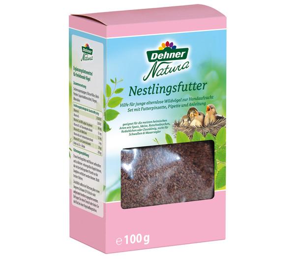Dehner Natura Nestlingsfutter, 100g