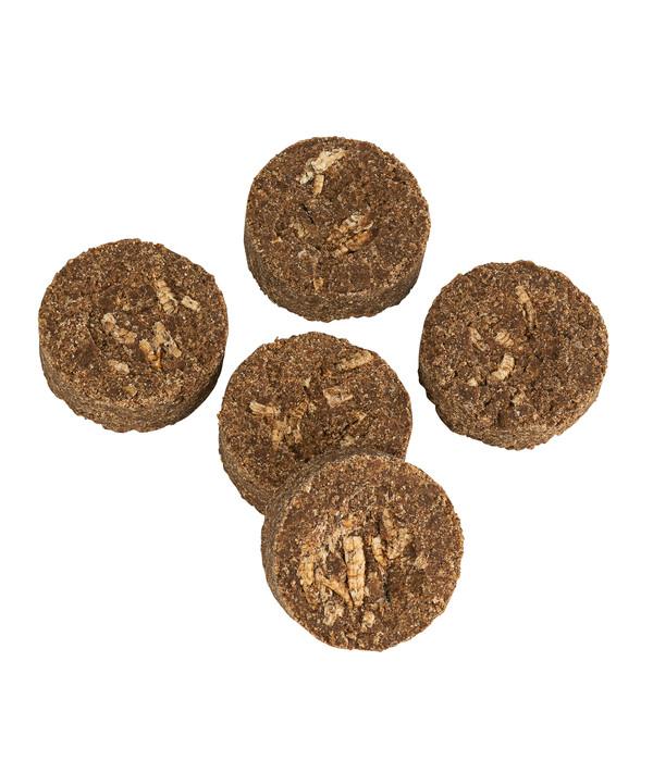 Dehner Natura Premium Igelfutter Igel-Kekse mit Mehlwürmern