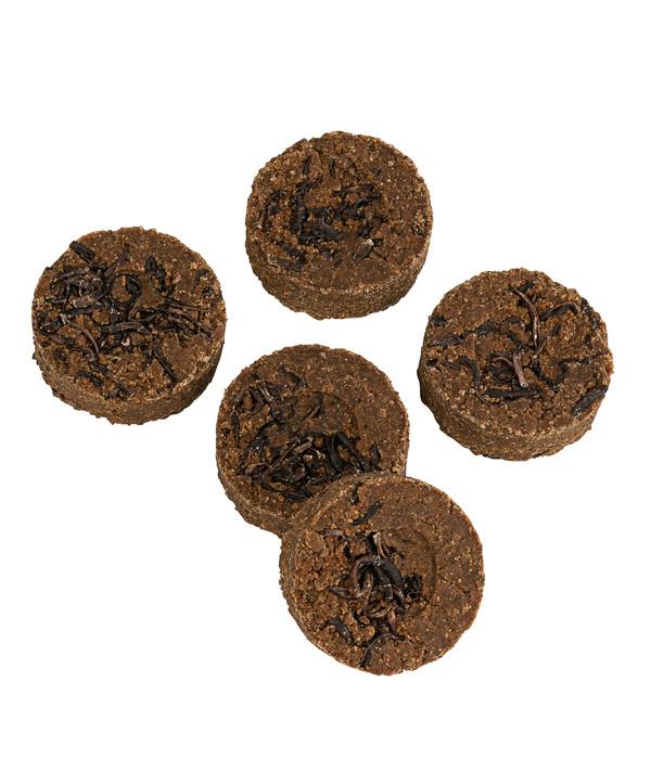 Dehner Natura Premium Igelfutter Igel-Kekse mit Regenwürmen