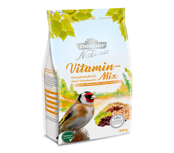 Dehner Natura Premium Vitamin-Mix, Ganzjahresfutter