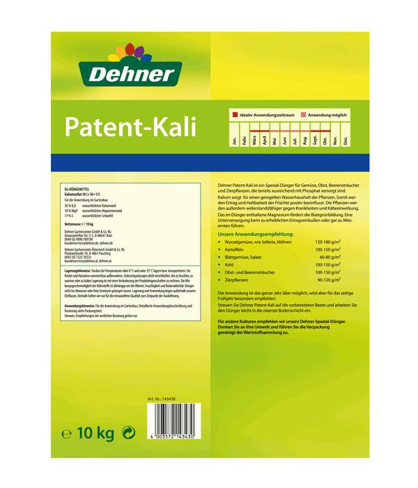 Dehner Patent-Kali, 10 kg