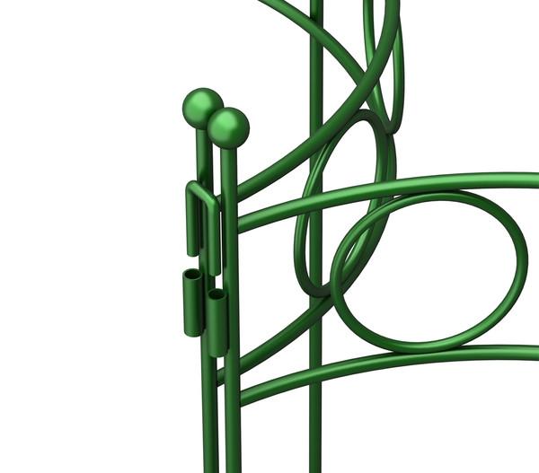 Dehner Pflanzenstütze Annabelle, grün