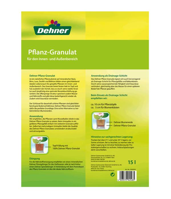 Dehner Pflanz-Granulat, 15 Liter