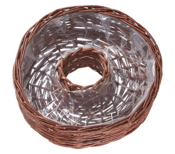 Gartendeko Aus Weidengeflecht, dehner pflanz-korbring aus weide, Ø 40 cm | dehner, Design ideen
