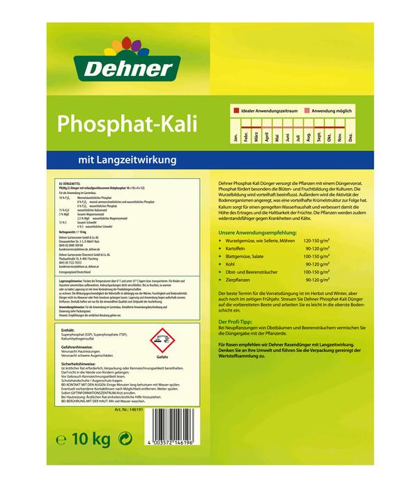 Dehner Phosphat-Kali Dünger, 10 kg